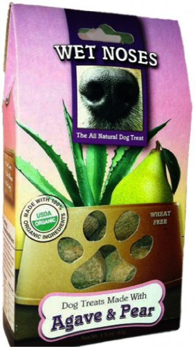 Wet Noses Agave & Pear Trial Size Dog Treats 1.5oz