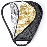Neewer 5 in 1 Portable Triangle 32Inch/80cm Multi Camera Lighting Reflector/Diffuser Kit with Grip and Carrying Case for Photpgraphy(32 Triangle)