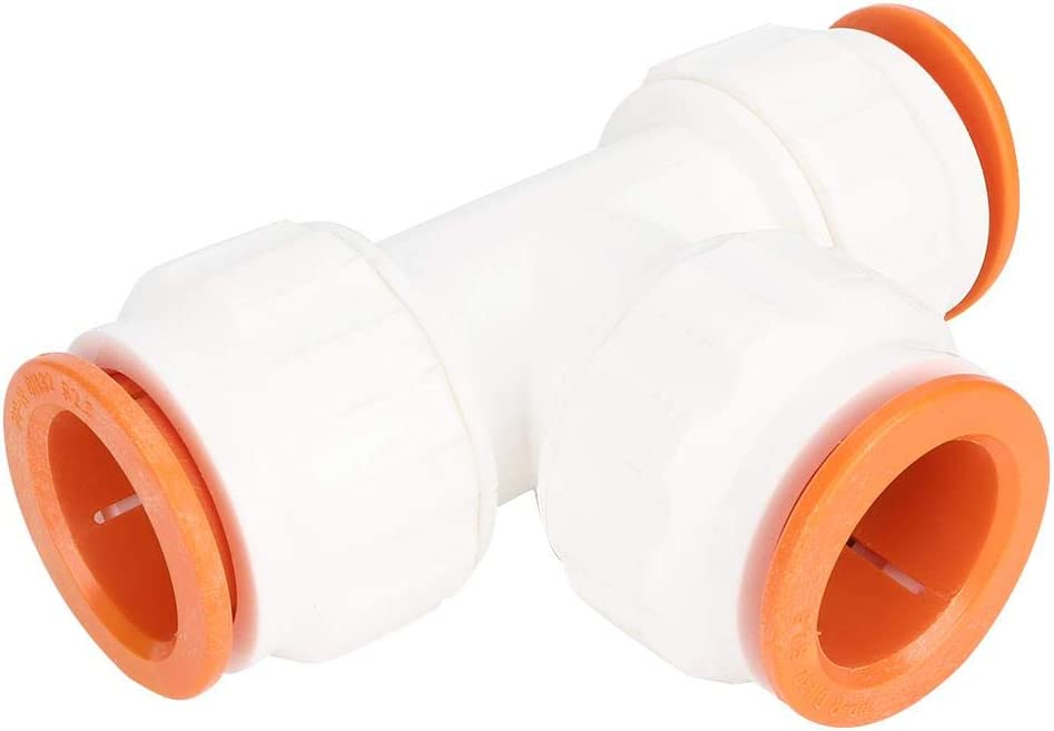 Double 32mm to 25mm tee eboxer-1 Water Pipe Connector Smooth Water Connector Connect Fitting for Bathroom for Tolite