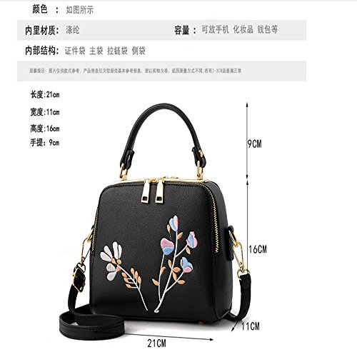 shoulder handbag bag green Fashion Bag MSZYZ gifts Holiday simple embroidery Satchel UWxfX4qXw