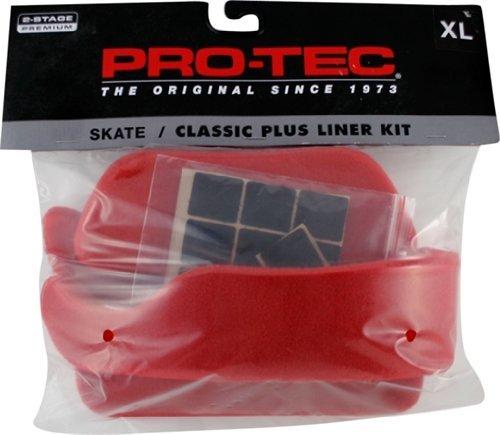 世界の Protec Lasek Skate Classic Plus Protec Liner Kit Xlarge Liner Red Skate Helmets [並行輸入品] B06XFVLG28, 上那賀町:abe4dfad --- a0267596.xsph.ru