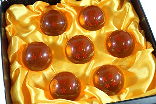 7-Small-43mm-Acrylic-Star-Balls-Anime-Cosplay-with-Microfiber-Cloth-Gift-Box