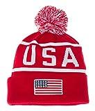 One Size Winter Knit Beanie - USA