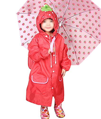 Waterproof Cartoon Raincoat Poncho Children