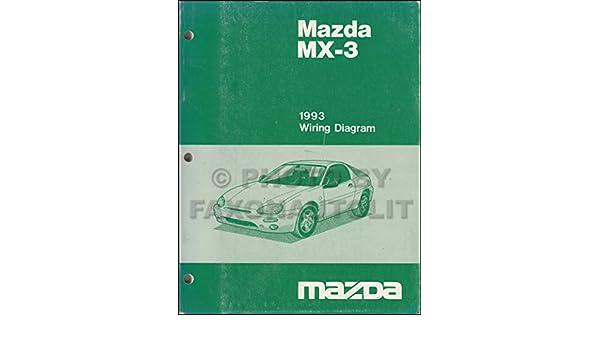 1993 Mazda MX-3 Wiring Diagram Manual Original: Mazda ... on mazda b4000 wiring diagram, mazda millenia wiring diagram, mazda b2600 wiring diagram, mazda mpv wiring diagram, mazda 5 wiring diagram, mazda mx3 parts catalog, mazda 626 wiring diagram, mazda tribute wiring diagram, mazda b2000 wiring diagram, mazda mx3 transmission diagram, mazda b3000 wiring diagram, mazda 3 wiring diagram, mazda b2300 wiring diagram, mazda 6 wiring diagram, mazda rx8 wiring diagram, mazda miata wiring diagram, mazda b2200 wiring diagram, mazda protege wiring diagram, mazda 323 wiring diagram,