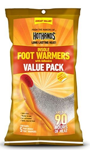 Hothands Insole Foot Warmer 20 Pair Value Pack by HotHands   B01KH30RWA