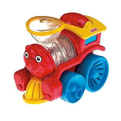 Fisher-Price Brilliant Basics Poppity Pop Train: Toys & Games