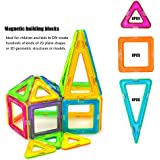 20 Pcs Magnetic Blocks, Magnetic Tiles Building Blocks Magnetic Construction Set Educational Stacking Toys