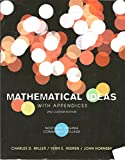 Mathematical Ideas with Appendices 2nd Edition