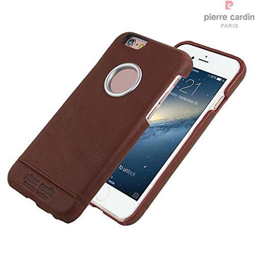 Capa para iPhone 6 iPhone 6s, Pierre Cardin, PC51-02, Marrom