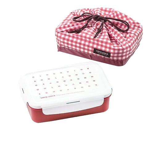 L&L LL Bento Box plástico crujiente Horno microondas con arroz Box ...