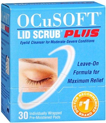 Ocusoft Lid Scrub Plus Size 30ct Ocusoft Lid Scrub Plus 30ct