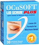 OCuSOFT Plus Eyelid Cleanser Pads 30 Each