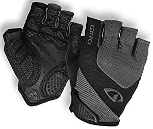 Giro Monaco Road Gloves, Char/Black, Large