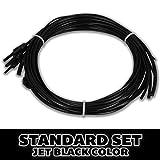 Superior Bassworks STANDARD Upright Double Bass Strings Jet Black Color FULL SET