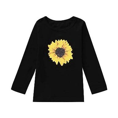 Lonshell_Toddler Clothing - Polo - para bebé niña Negro B 6 años ...