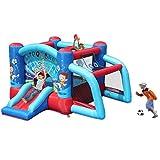 Inflatable Bouncer Jump n Slide - Soccer Goal. Size 10´x 10.2´x 6´w/ HD Blower