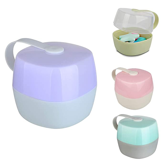 Baby Infant Soother Container Pacifier Dummy Travel Storage Box Case Holder SU