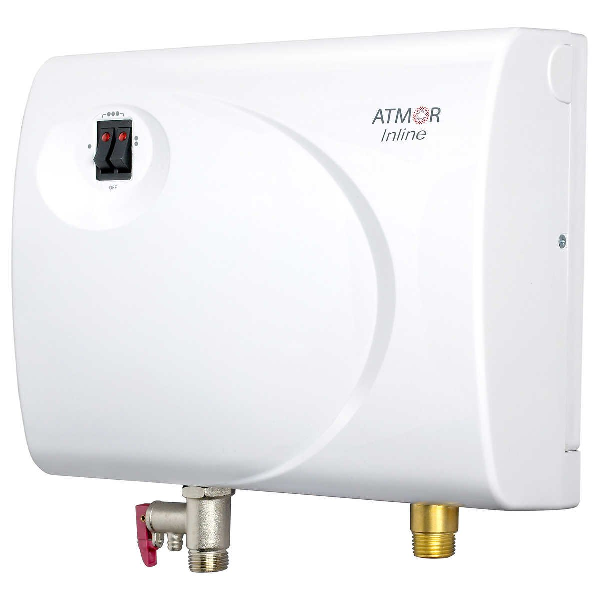 Atmor AT-S901-13 Tankless Electric Hot Water Heater, White by Atmor