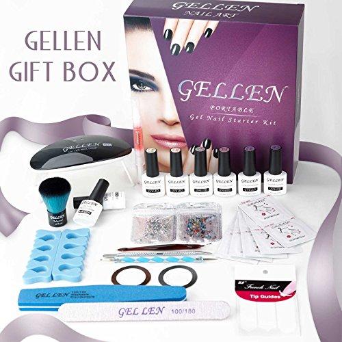 Nail Art Starter Kit: Gellen Gel Nail Polish Starter Kit