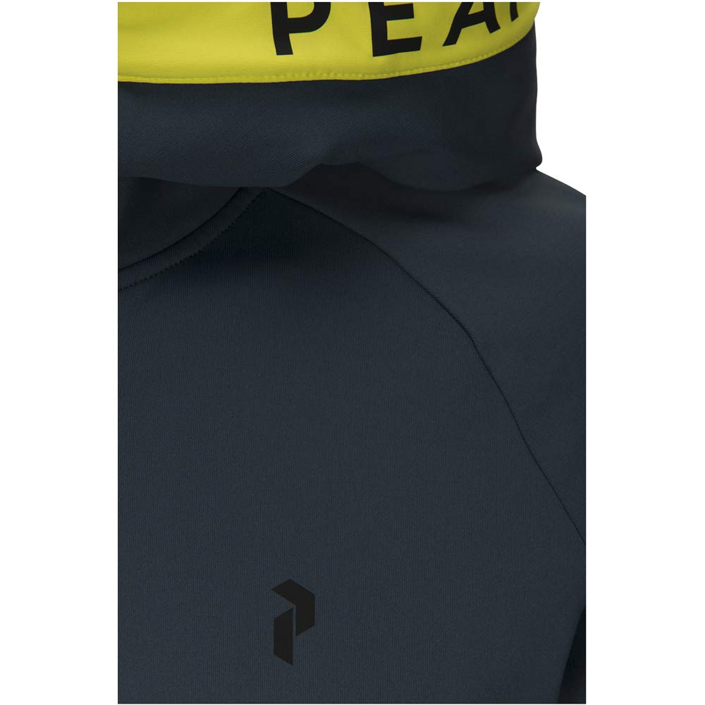 Peak Performance Rider Zip Hood Men Blaze Lime 2019 Jacke