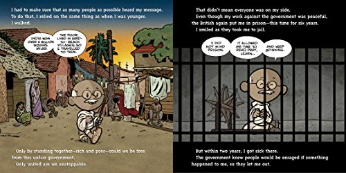 I am Gandhi (Ordinary People Change the World) by Dial Books (Image #3)