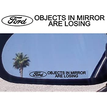 Ford Mirror Decals - Pack of 2  sc 1 st  Amazon.com & Amazon.com: Ford Mirror Decals - Pack of 2: Automotive markmcfarlin.com