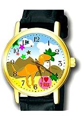 Cute T-REX Tyrannousaurus Rex Dinosaur Art Children's Kids Art Wrist Watch. 30 mm