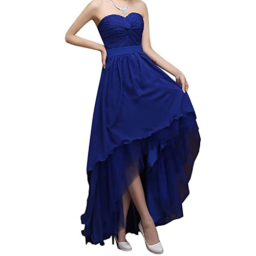 Orient Bride Women Hi/Lo Chiffon Party Prom Gown Bridesmaid Dresses