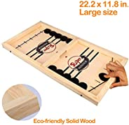 Fast Sling Puck Game ,Slingshot Games Toy,Paced Winner Board Games Toys for Kids & Adults,Large Size