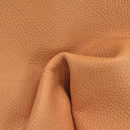 Summer Tan Pebble Grain Leather Cow Hide 8'' x 10'' Pre-Cut 4-5 oz TP-67931 (Sec. 4, Shelf 5, B)