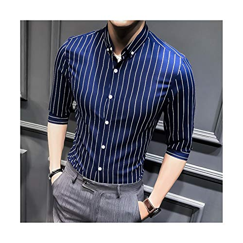 2019 Spring Autumn Features Shirts Men Susan1999-menshirtsCasual Casual Jeans Shirt Long Sleeve Casual Slim Fit Male Shirts