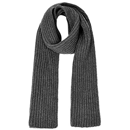 Vbiger Unisex knitted Scarf Warm Wrap Shawl Thickened Winter Infinity Scarf for Men and Women