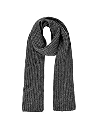 Vbiger Thick Knitted Scarf Warm Wrap Shawl Winter Infinity Scarf for Men and Women