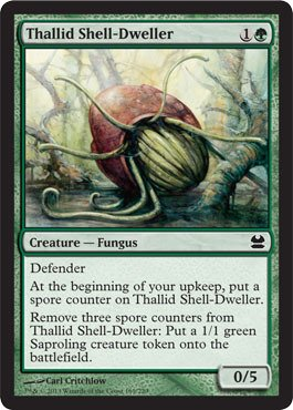 Magic: the Gathering - Thallid Shell-Dweller - Modern Masters