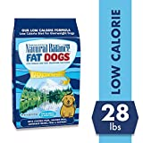 Image of Natual Balance Fat Dogs Low Calorie Adult Dog Food with Chicken Meal, Salmon Meal, Garbonzo Bean, Peas & Oat Groats, 28 Pounds
