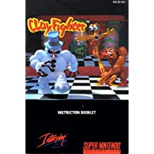 Clay Fighter SNES Instruction Booklet (Super Nintendo Manual Only) (Super Nintendo Manual)