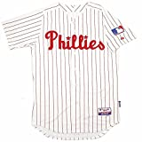 "Philadelphia Phillies MLB Majestic Men's White 1969 Authentic ""Turn Back the Clock"" Jersey (44)"