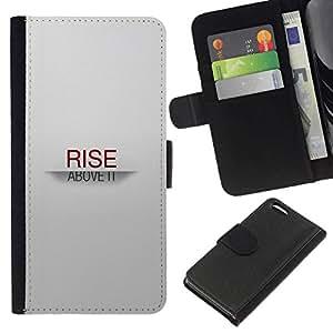 NEECELL GIFT forCITY // Billetera de cuero Caso Cubierta de protección Carcasa / Leather Wallet Case for Apple Iphone 5C // SUBIDA SOBRE TI