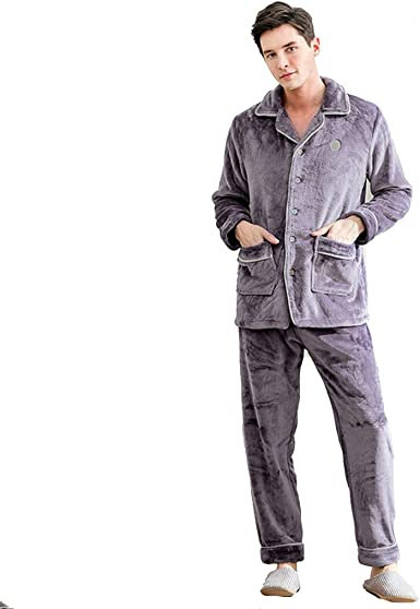 Pijamas Pijamas de otoño/Invierno para Hombres Pijamas ...