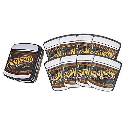 Suavecito Original Hold Pomade Travel Tin - 8 Pack