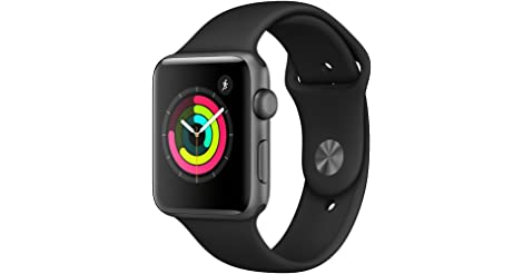 Apple Watch Series 3 42mm GPS only Smartwatch (Space Gray) only $229.00
