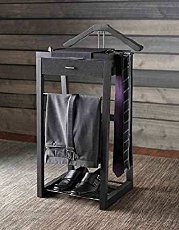 Standing Valet Stand Kenneth Cole Home Office Suit Organizer. Amazon com  Standing Valet Stand Kenneth Cole Home Office Suit
