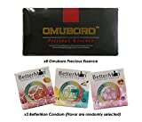(8) Pack Omuboro Precious Essence Improve Erectile Function Strengthen Penis + Free (3) Box BetterMan Energized Ion Condom