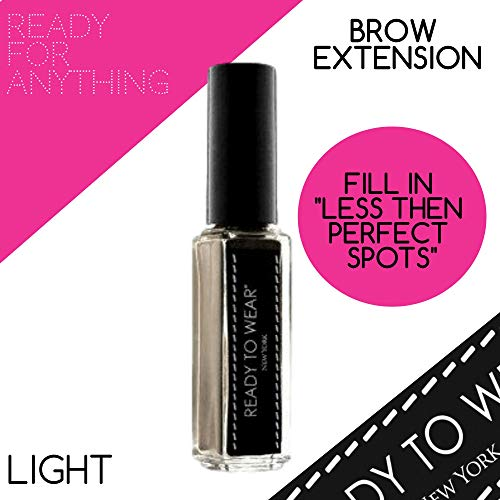 Ready To Wear Precision BROW EXTENSION Fine Powder Spot Filler Made In Italy (LIGHT)