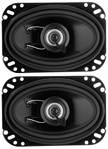 Planet Audio TRQ462 Torque 200 Watt (Per Pair), 4 x 6 Inch, Full Range, 2 Way Car Speakers (Sold in Pairs) (Best Speakers In A Car)