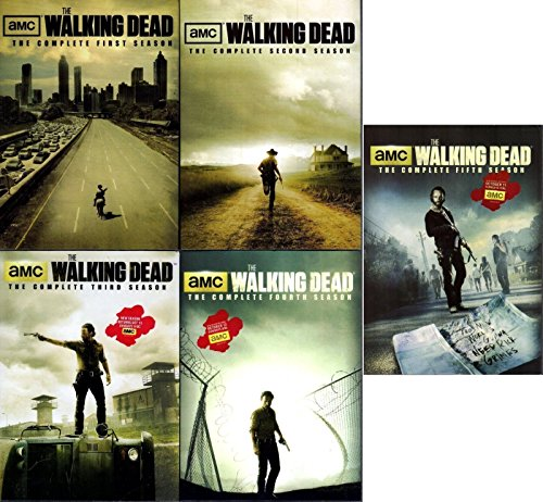 Walking Dead - Complete Collection, DVD (Series Seasons 1-5, 1,2,3,4,5 Bundle) USA Format Region 1