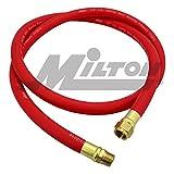 6ft leader hose - Milton 2780-6LH Air Leader Hose, 1/2