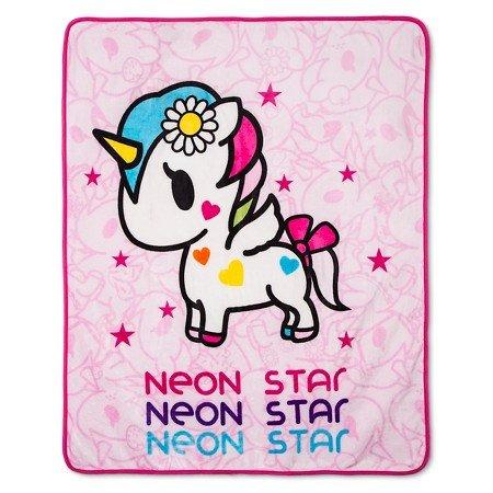 I Love Unicorns Throw (50x60)