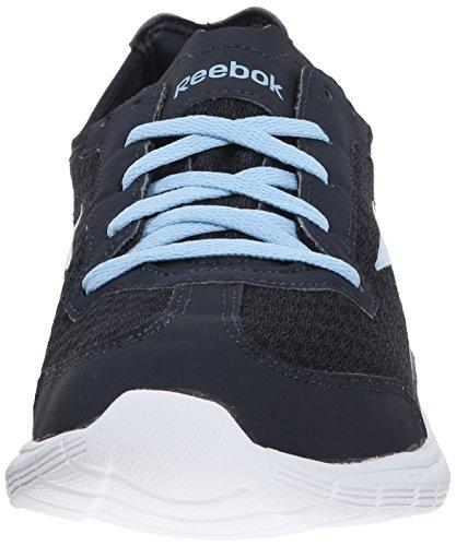 Reebok Sport Videre Handling Rs Kvinners Walking Sko Indigo-denim Glow-hvitt